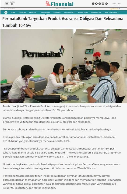 PERMATA BANK – PRESSCON – WEALTH WISDOM | Piar Consulting