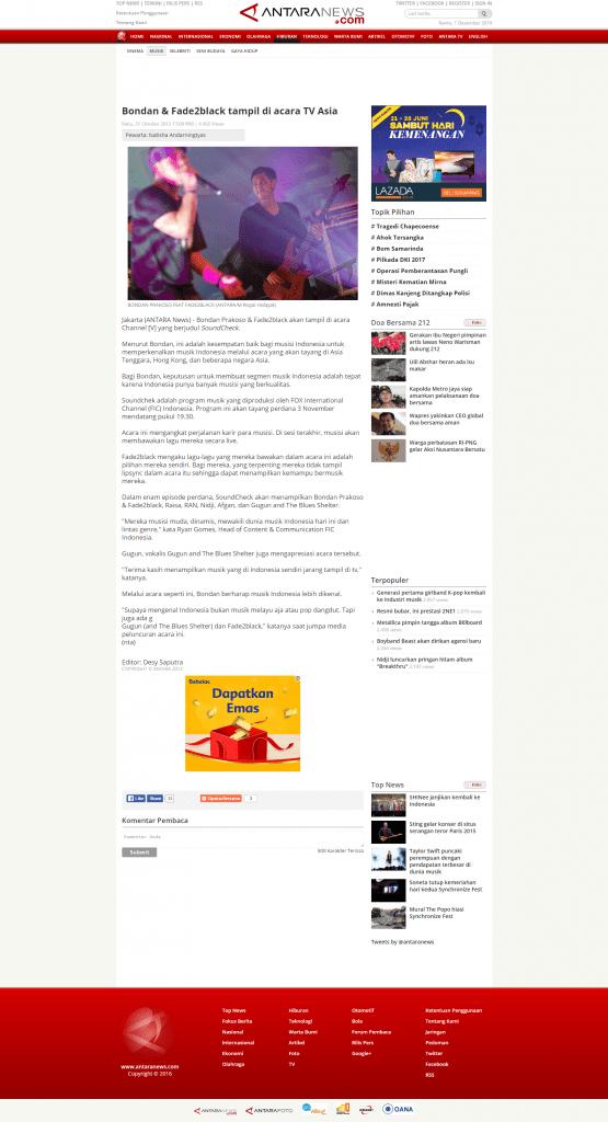 MEDIA LAUNCHING – New Channel V Program Soundcheck | Piar