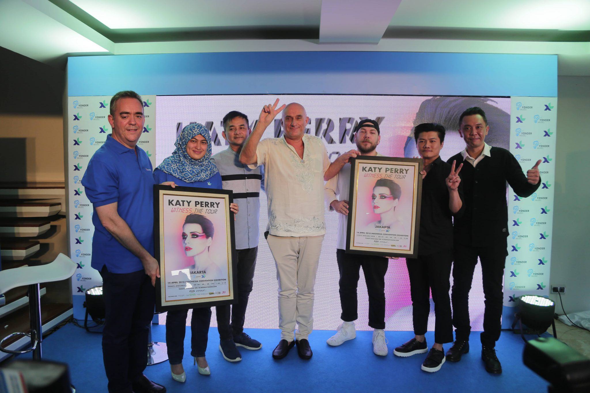 Yonder Music and XL Axiata are Supports The Concert of Katy
